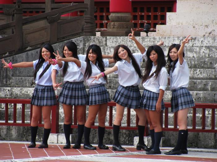 girls of okinawa